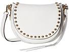 Rebecca Minkoff Unlined Saddle Bag (White)