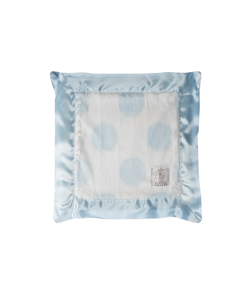 Little Giraffe - Luxe Spot Blanky (Blue) Blankets