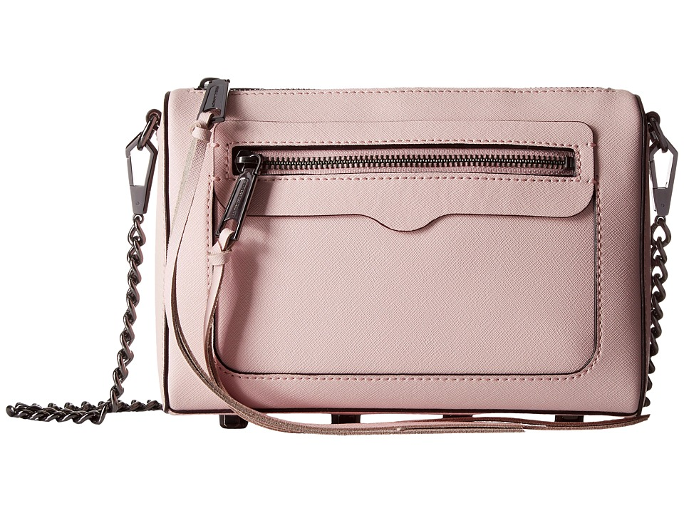 Rebecca Minkoff - Avery Crossbody (Pale Blush) Cross Body Handbags