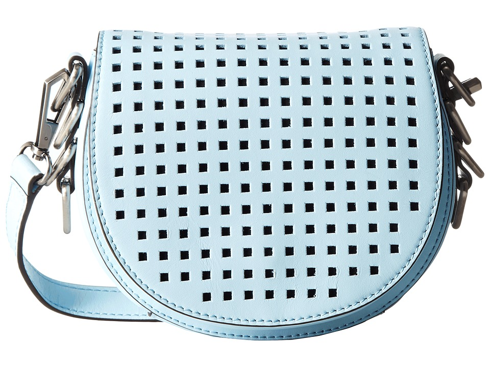 Rebecca Minkoff - Astor Saddle Bag (Sky) Handbags