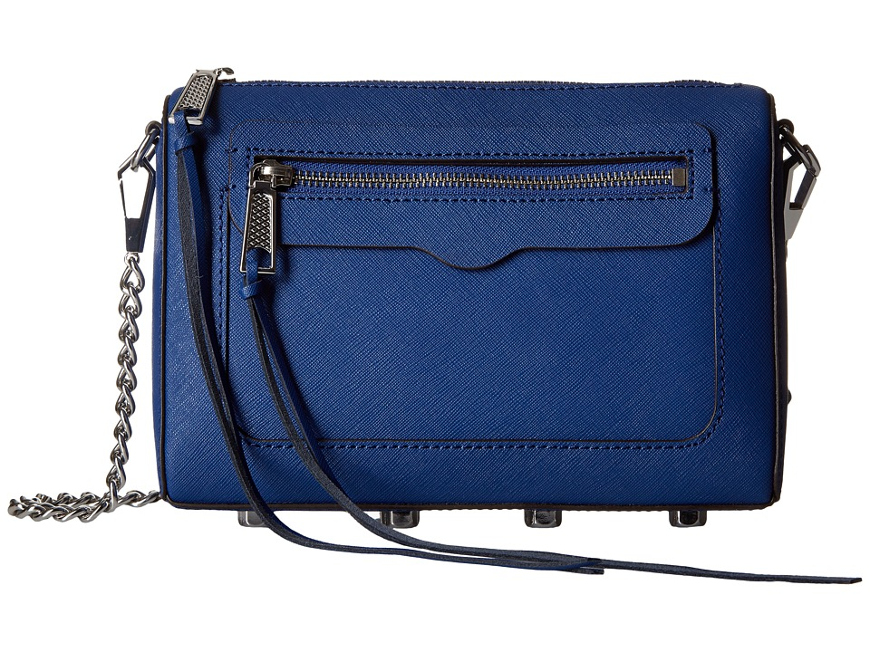 Rebecca Minkoff - Avery Crossbody (Cobalt) Cross Body Handbags