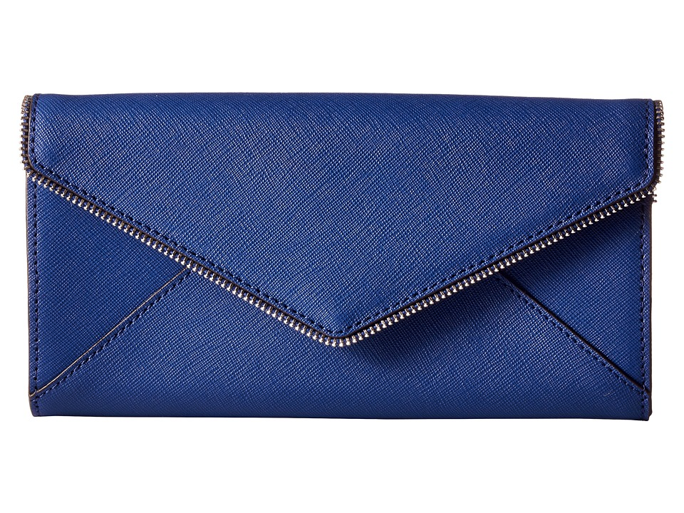 Rebecca Minkoff - Cleo Wallet on a Chain (Cobalt) Wallet Handbags