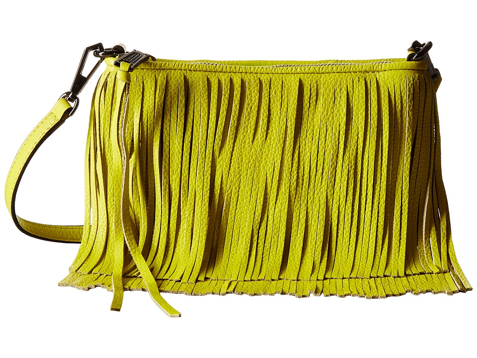 Rebecca Minkoff - Finn Crossbody (Limeade) Cross Body Handbags