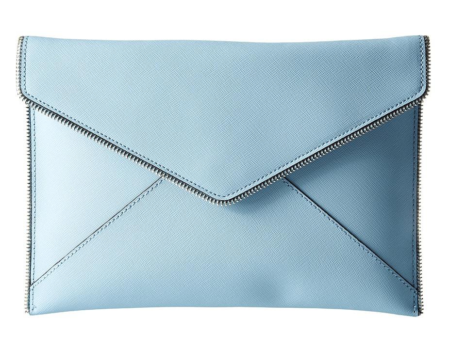 Rebecca Minkoff Leo Clutch Sky Clutch Handbags