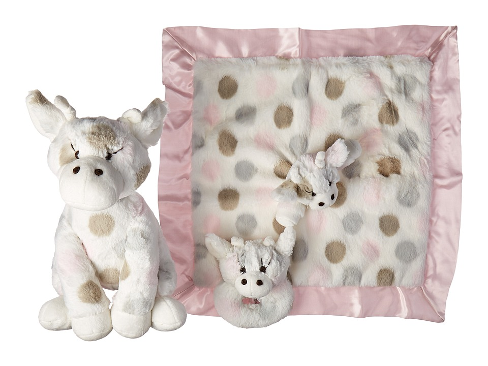 Little Giraffe - Plush Toy Giftable Bundle (Pink) Accessories Travel