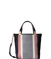 Tommy Hilfiger - Hinge - Woven/Smooth Small Convertible North/South Shopper