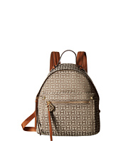 Tommy Hilfiger - Tessa - Monogram Jacquard/Smooth Small Backpack