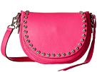 Rebecca Minkoff Unlined Saddle Bag (Flamingo)