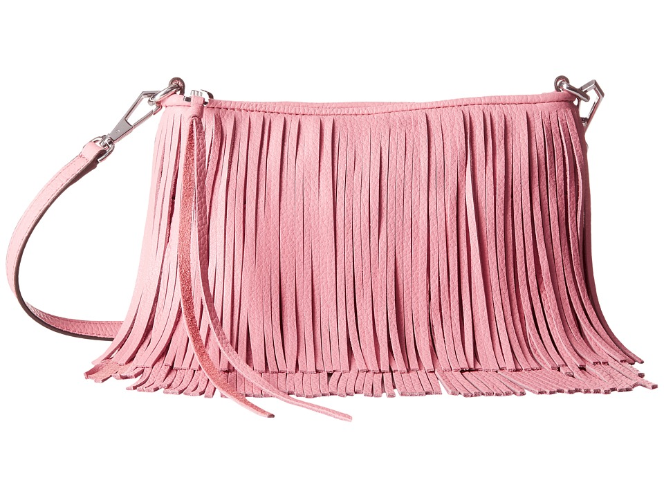 Rebecca Minkoff - Finn Crossbody (Guava) Cross Body Handbags
