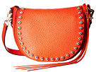 Rebecca Minkoff Unlined Saddle Bag (Poppy Red)