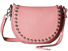 Rebecca Minkoff Unlined Saddle Bag (Guava)