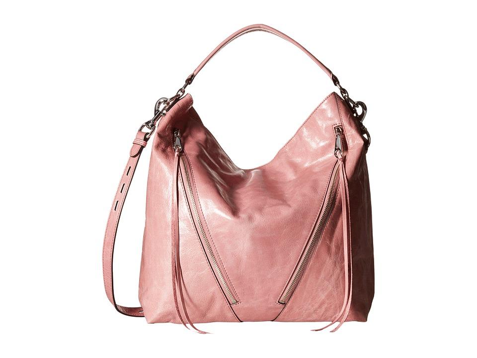 Rebecca Minkoff - Moto Hobo (Rosa) Hobo Handbags