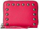 Rebecca Minkoff Mini Ava Zip Wallet with Studs (Flamingo)