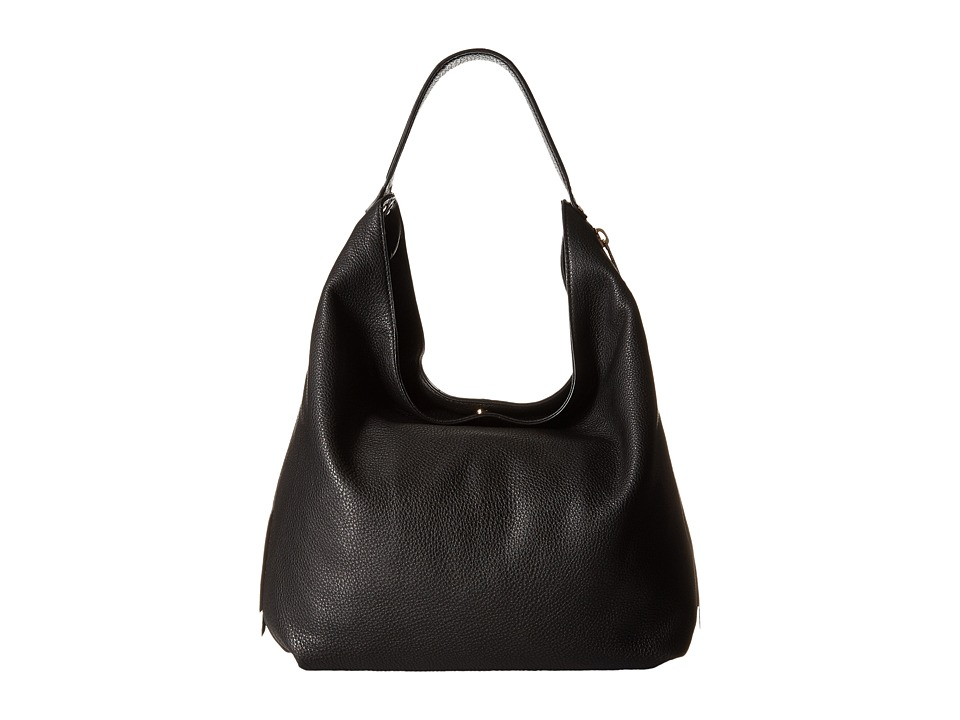 Rebecca Minkoff - Bryn Double Zip Hobo (Black) Hobo Handbags