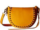 Rebecca Minkoff Unlined Saddle Bag (Saffron)