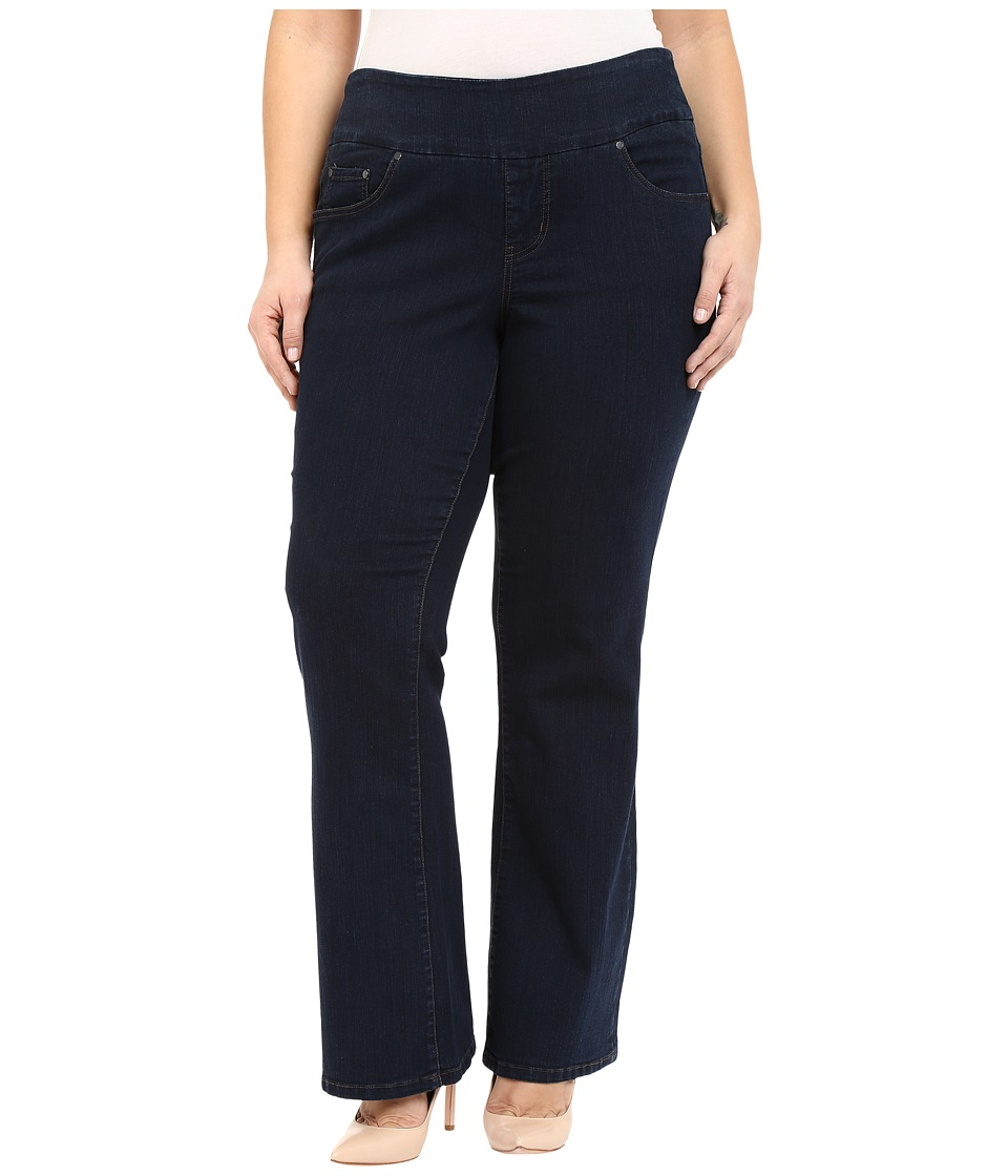 Jag Jeans Plus Size Plus Size Paley Boot in After Midnight Comfort Denim After Midnight Womens Jeans