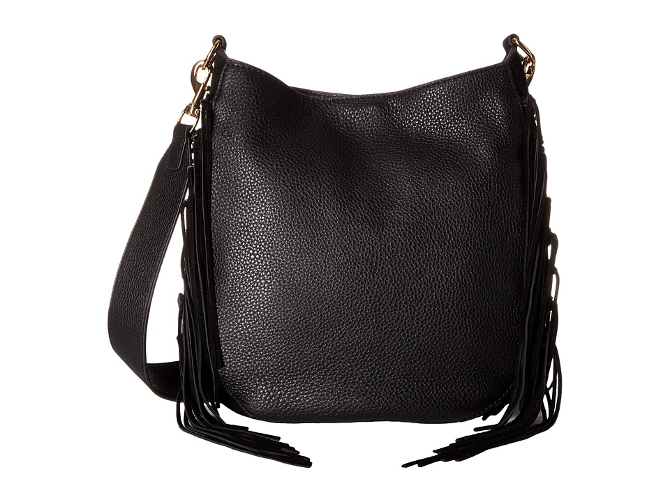 Rebecca Minkoff - Lima Crossbody Hobo (Black) Hobo Handbags