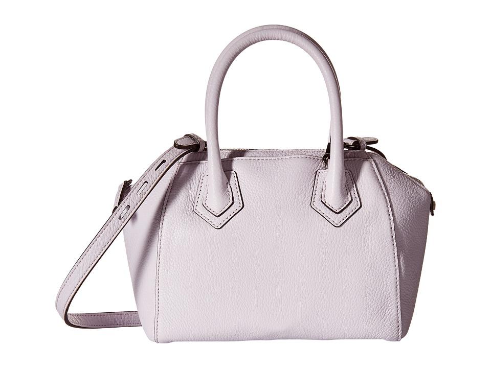 Rebecca Minkoff Micro Perry Satchel Pale Lilac Satchel Handbags