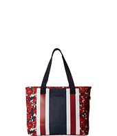Tommy Hilfiger - TH Stripes - Painted Floral Striped Canvas Shopper
