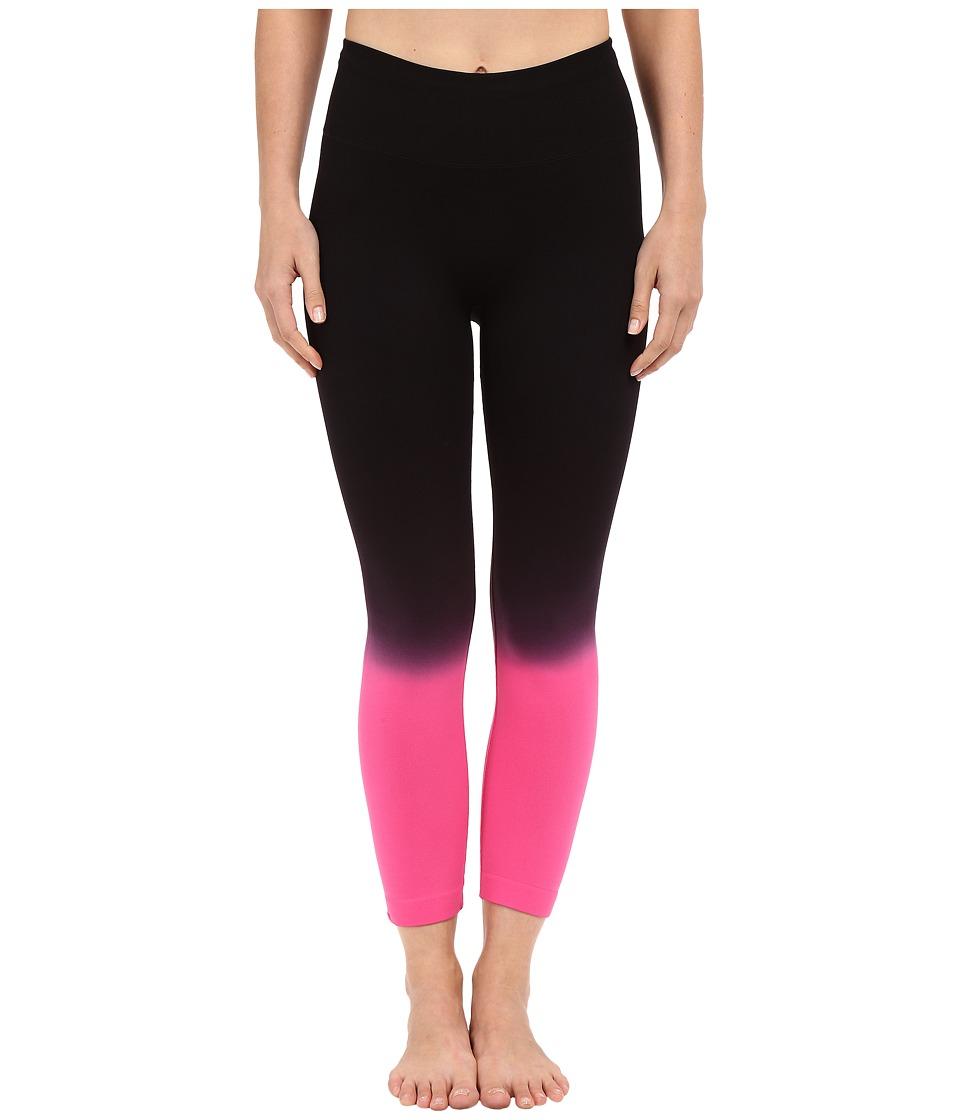 Champion Seamless Dip Dye Capris Dip Dye Black/Pinksicle Womens Capri