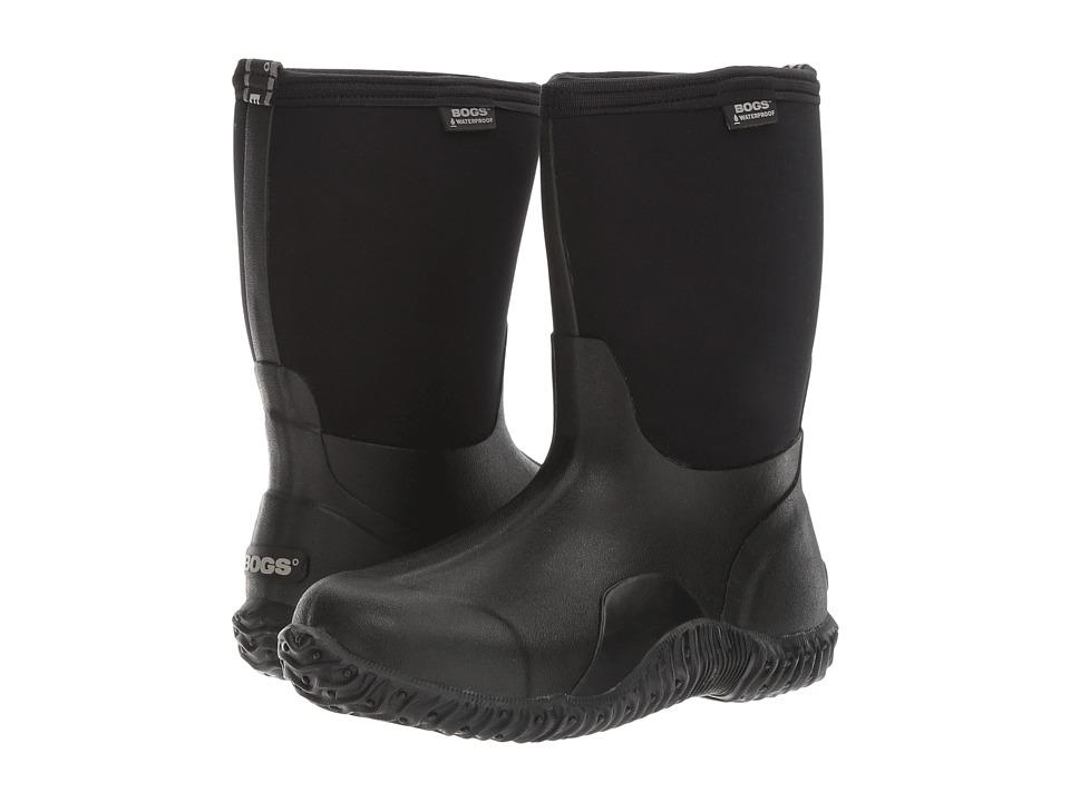 Bogs Classic Mid (Black) Women's Rain Boots
