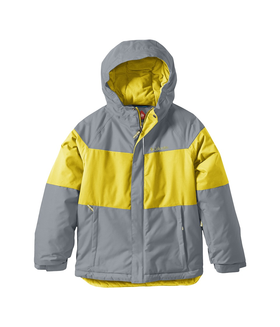 Columbia Kids Alpine Action Jacket (Toddler) (Mineral Yellow/Grey Ash) Boy