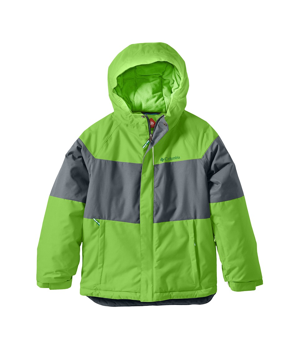 Columbia Kids Alpine Action Jacket (Toddler) (Green Mamba/Grey Ash/Fuse Green) Boy