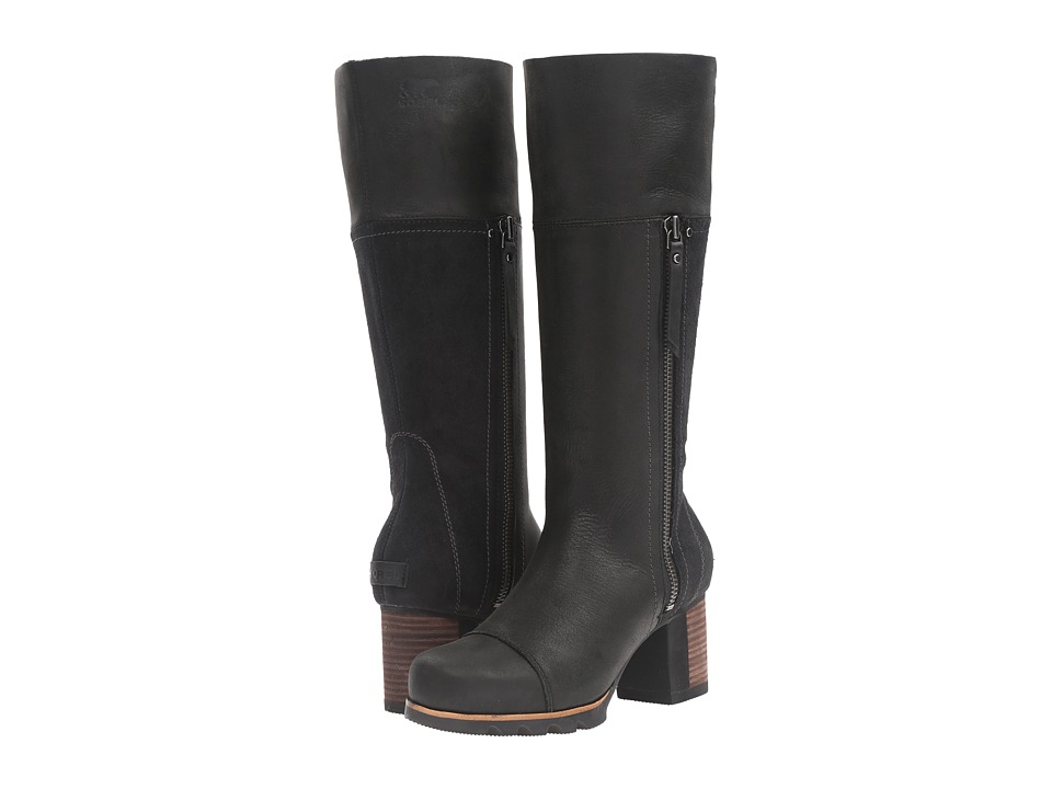 Sorel Addington Tall (Black) Women's Waterproof Boots