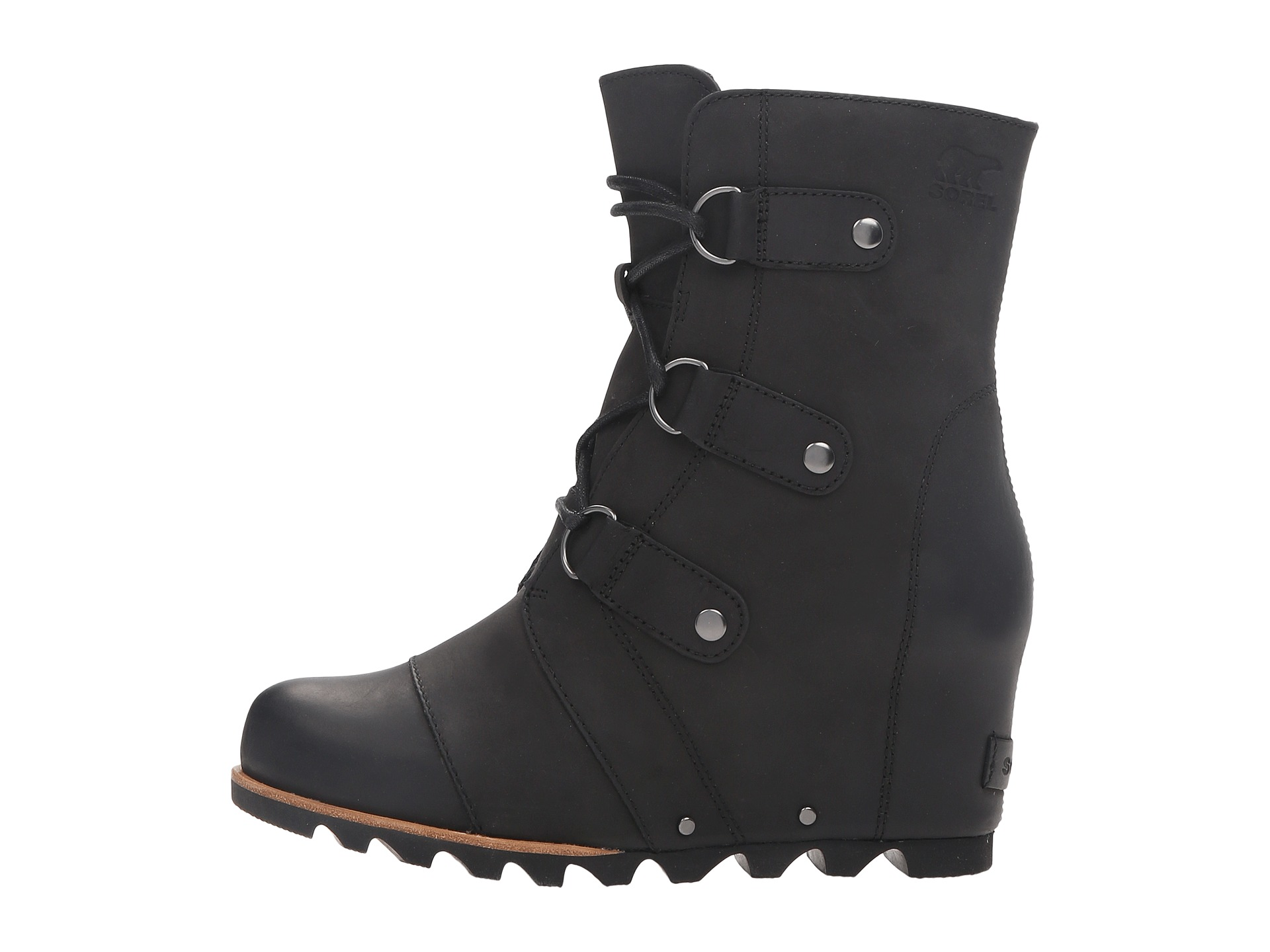 sorel joan of arctic wedge mid at zappos