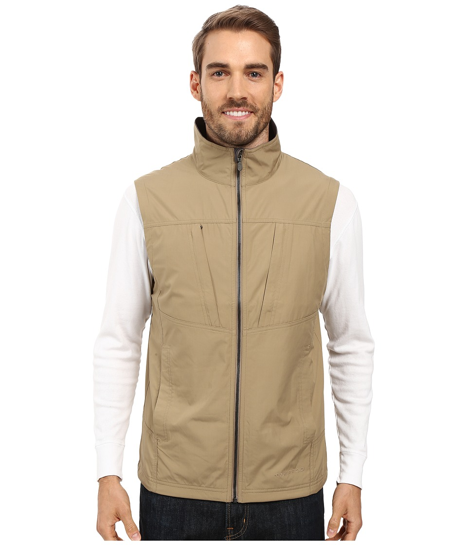 ExOfficio Flyq Vest (Walnut) Men