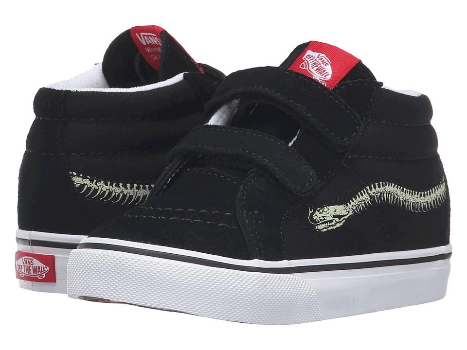 Vans Kids - Sk8-Mid Reissue V (Toddler) ((Reptile Sidestripe) Snake/Black) Boys Shoes