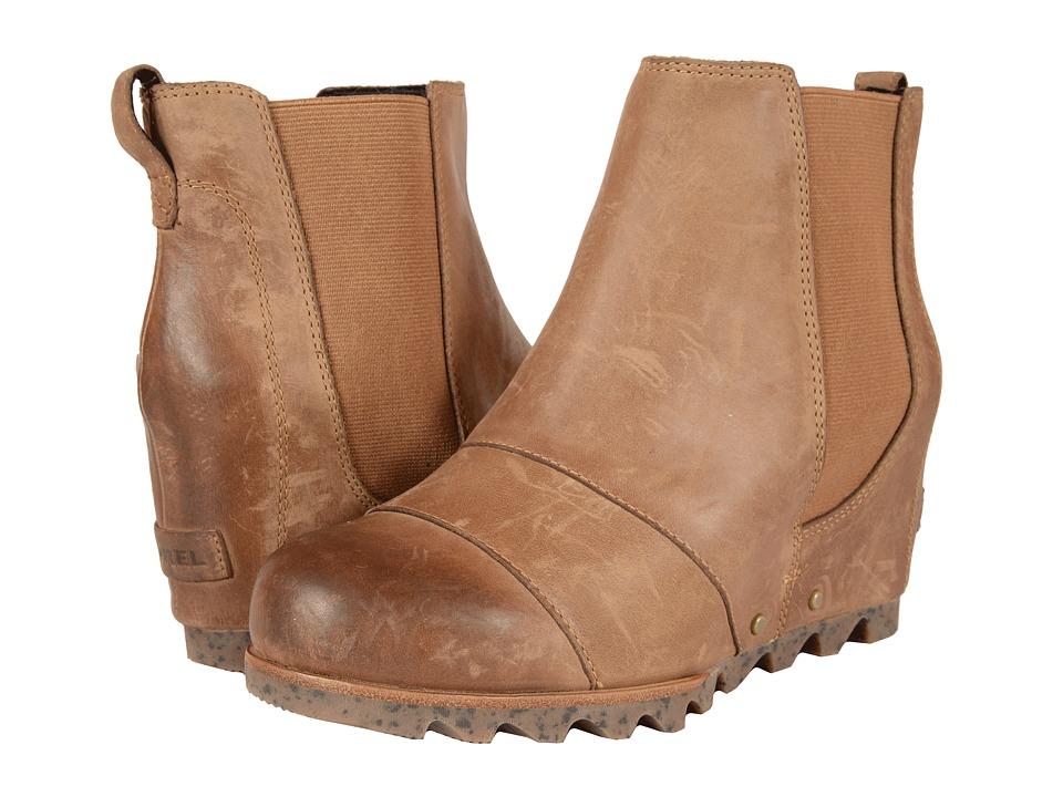 Sorel Lea Wedge (Elk) Women's Waterproof Boots