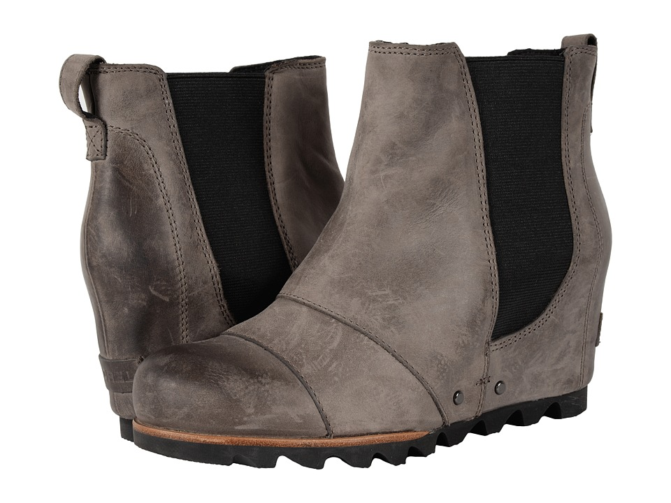 SOREL - Lea Wedge (Dark Grey) Women