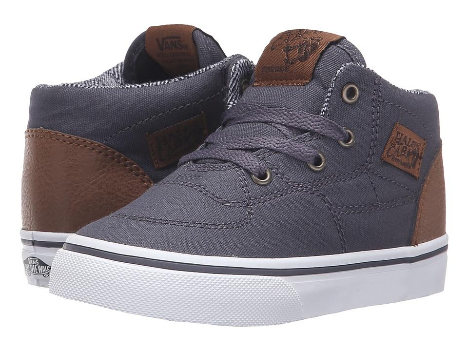Vans Kids - Half Cab (Toddler) ((C&L) Periscope/True White) Boys Shoes