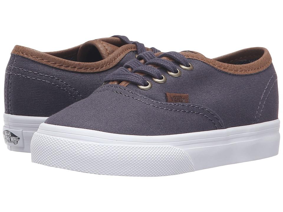 Vans Kids - Authentic (Toddler) ((C&L) Periscope/True White) Boys Shoes