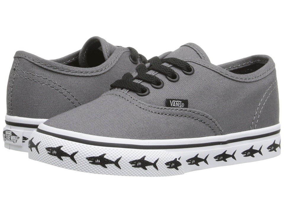 Vans Kids - Authentic (Toddler) ((Sidewall) Sharks/Tornado) Boys Shoes