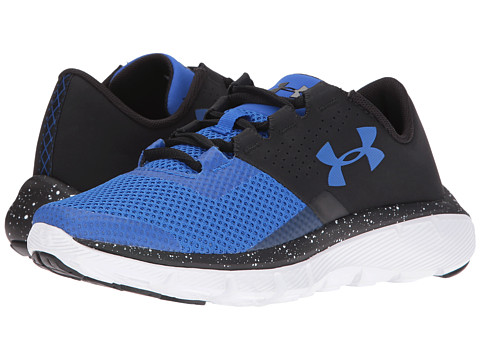 Under Armour Kids UA BGS Fortis 2 Speckle (Big Kid) - Black/White/Ultra Blue