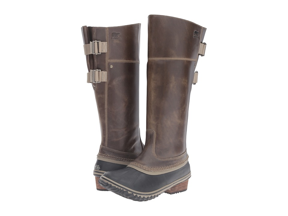 SOREL Slimpack Riding Tall II (Dark Fog) Women
