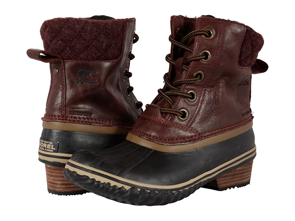 SOREL - Slimpack II Lace (Redwood) Women