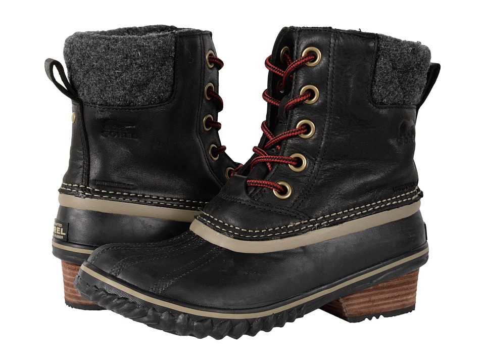 SOREL - Slimpack II Lace (Black) Women