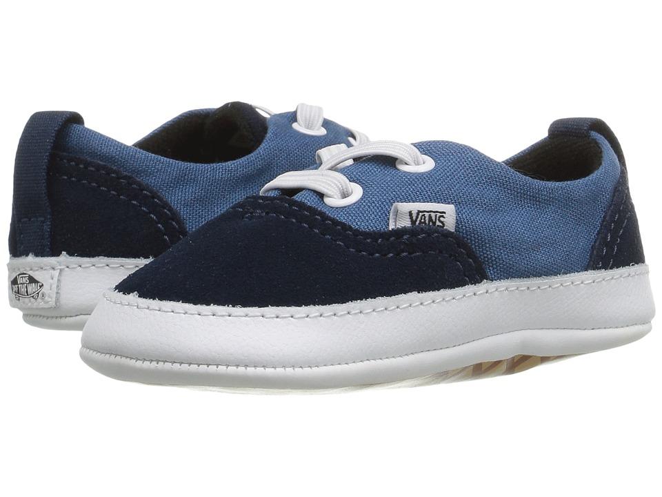 Vans Kids - Era Crib (Infant/Toddler) (Navy/Navy) Boys Shoes