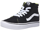 Image of Vans Kids - Sk8-Hi Lite (Little Kid/Big Kid) ((Basic) Black/White) Boys Shoes