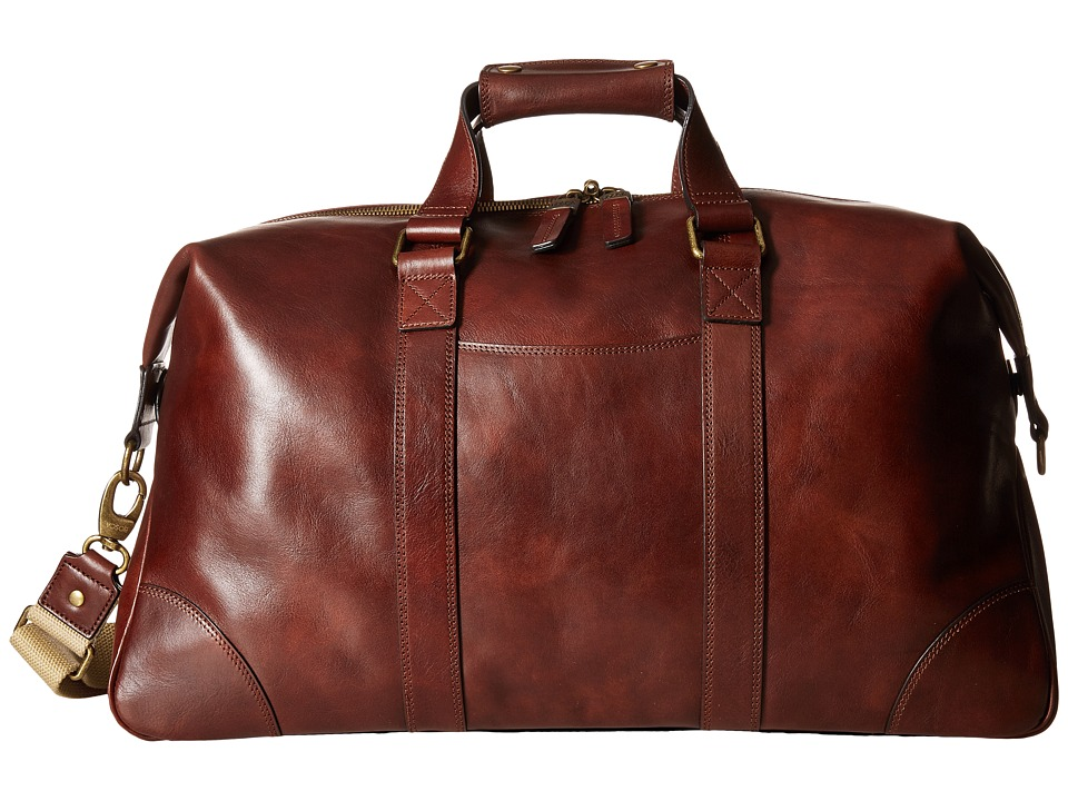 Bosca - Dolce Collection - Duffel (Dark Brown) Duffel Bags