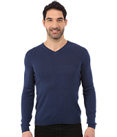 Calvin Klein - Cotton Modal Full Needle V-Neck - 14GG