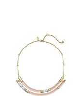 Alexis Bittar - Small Color Blocked Crescent Bib Necklace