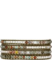 Chan Luu - 32' Labradorite Mix/Coconut Wrap Bracelet