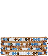 Chan Luu - 32' Blue Mirage Mix Wrap Bracelet