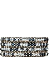Chan Luu - 32' Matte Black Sardonyx Mix Bracelet