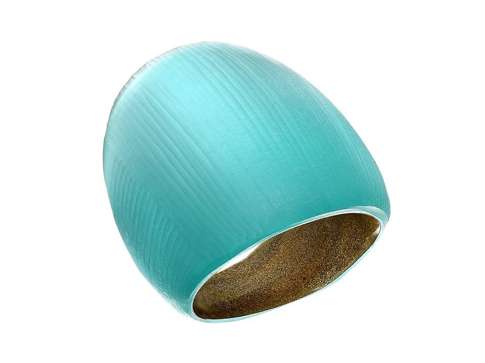 Alexis Bittar Block Ring Mint Green Ring