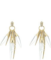 Alexis Bittar - Rock Crystal Burst Post Earrings